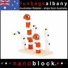 Nanoblock Spotted Garden Eel Splendid Eel Micro Sized Building Blocks Nano Block