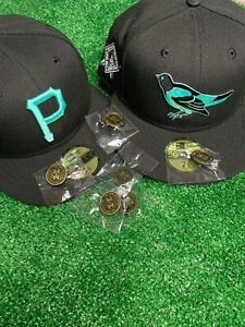 Hat Club Exclusive MLB Midnight Mint Glow in the Dark New Era 59Fifty With pin