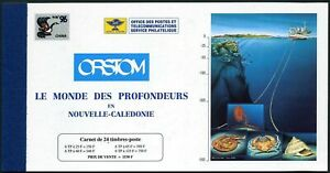 New Caledonia 737a-740a booklet,MNH.Mi 1066-69 MH. CHINA-1996,Marine life.Shell.