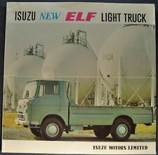 1964 Isuzu Elf Light Pickup Truck Sales Brochure Folder Excellent Original 64