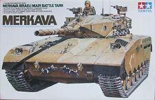 Tamiya 1:35 Israeli Merkava Main Battle Tank Plastic Model Kit 35127 TAM35127