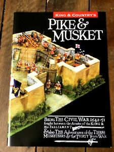 King & Country toy soldiers brochure. Pike & Musket. English Civil War