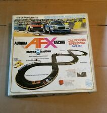 AURORA AFX Model Motoring California Speedway Race Set No. 2381-700