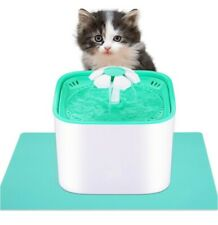 More details for pet friend cat fountain 2l water bowl clean purified drinking water