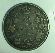 Canada 1906 50 cents silver a very nice coin