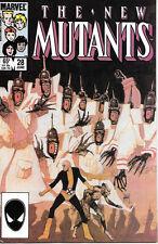 Marvel Comics The New Mutants Comic Book #28 1985 VERY FINE/NEAR MINT  UNREAD