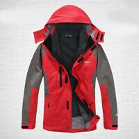 Mens Ski Jacket Snowboard D31 Red Winter Waterproof Breathable S M L XL XXL