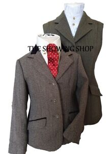 KEEPERS TWEED LEAD REIN OUTFIT WAISTCOAT 20 CHILDS JACKET SIZE 24