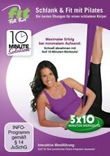 DVD  -  Fit for Fun - 10 Minute Solution: Schlank & Fit mit Pilates  -  FITNESS