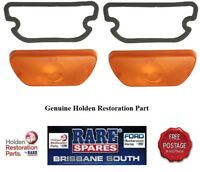 HOLDEN LH LX TORANA FRONT INDICATOR LENSES (2) BRAND NEW A9X RARE SPARES