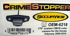 NEW Crimestopper OEM-6218 Honda Odyssey (2009-2010) High Sensitivity CMOS Camera