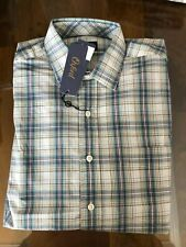1 NWT OXFORD GOLF MEN'S LONG SLEEVE BUTTON DOWN SHIRT, SIZE: LARGE - PLAID2