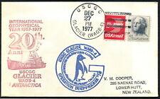 USA - 1977 ANTARCTICA USGC 'GLACIER' (WAGB-4) + PENGUIN  [A6911]