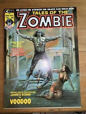 Tales of the Zombie, V2, #1, 1974, Curtis, Marvel, Magazine, FN+