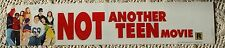 NOT ANOTHER TEEN MOVIE 5X25 MYLAR DS MOVIE POSTER