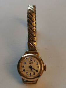 Vintage Ladies Oris Trio Swiss Made Mechanical Watch