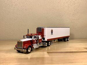 Dcp 1/64 Kenworth W900A C.R. England 40' Reefer Fallen Flag Semi Truck Farm Toy