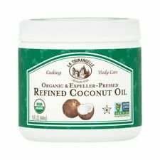 La Tourangelle - Organic Refined Coconut Oil - 15 Fluid Ounce
