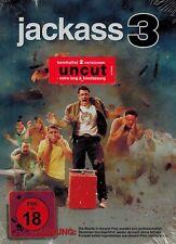 DVD - Jackass 3 - Uncut - 2 Versionen - Johhny Knoxville - NEU/OVP