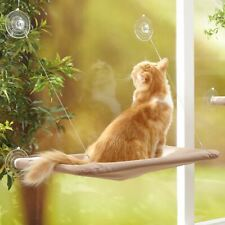 More details for cat bed window mounted pet sunshine bed conservatory wall hammock perch cushion