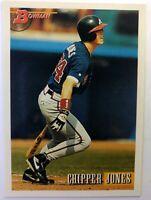 1993 93 Bowman Chipper Jones Rookie RC #86, HOF, Atlanta Braves