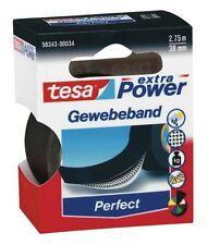 tesaband® 56341-00027 TESA Gewebeband 2,75mx19mm schwarz Premium Power-Klebeband