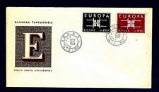 GREECE - GRECIA - 1963 - Europa - Disegno geometrico con le iniziali CEPT - (C)