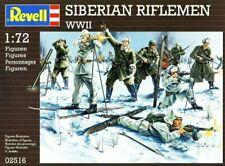 Revell 02516 Soviet Siberian Riflemen WWII 1/72 scale model figure kit