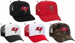 Tampa Bay Buccaneer Super Bowl 2021 Foam Front Mesh Back Snap Back Trucker Hat