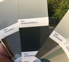 Peinture carrosserie: Gris Signal RAL 7043 brillant direct + durcisseur diluant