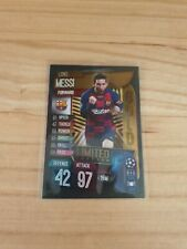 Lionel Messi 2019 2020 Gold Limited Edition Rare Topps