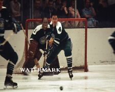 NHL Oakland California Seals  Charlie Hodge Game Action Color 8 X 10 Photo