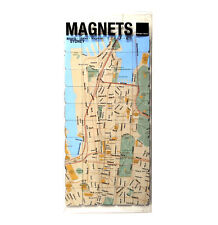 Sydney City Map Fridge Magnet Puzzle - Learn the City Map Knowledge with Fridge
