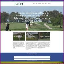 GOLF Website Business For Sale Upto $2,403.12 A Sale + Free Domain Free Hosting