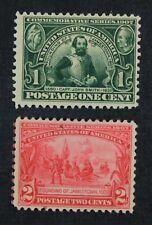 CKStamps: US Stamps Collection Scott#328 Mint H OG #329 Mint NH OG