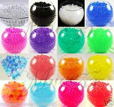 2 PACKS WATER BEADS SOIL BIO GEL BALL CRYSTAL WEDDING  CENTREPIECE VASE FILLER
