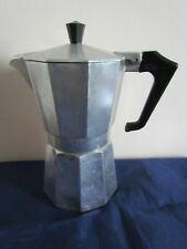 More details for bialetti retro moka express coffee maker 300 ml aluminium made in italy vintage