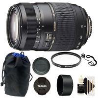TAMRON AF 70-300mm f4-5.6 DI LD MACRO for Nikon DSLR Camera Accessory Kit