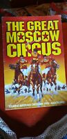 THE GREAT MOSCOW  CIRCUS PROGRAMME 1992 93 AUSTRALIA