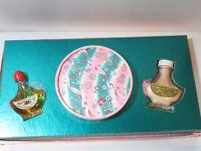 Unused Vintage Mid-Century Irresistible Powder Sachet Perfume Gift Set In Box