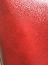 PVC Faux Leather Vinyl Fabric Upholstery Material RED