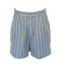 S1) LE FROG Vintage Herren Shorts Gr.48 kariert
