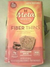 METAMUCIL fibra assottiglia supplemento Psyllium Lolla, cannella Spice, EXP BOX 2021 ~ 10