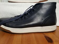"""""""Nice & Stylish"""" Men's Cole Haan Grand O's Navy Leather Sneakers 9.5"""