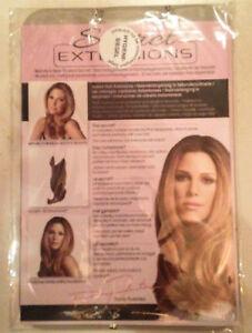 Secret Extensions - Hellbraun - Light Brown - Haarverlängerung - 37cm - NEU