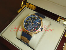 Ulysse Nardin Marine Chronometer Manufacture Chronograph 18kt 43mm 1506-150-3/63
