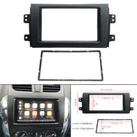 For 2007-13 Suzuki SX4 Double Din Stereo Radio Plate Frame Panel Trim Dash Kit