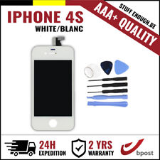 AAA+ LCD TOUCH SCREEN VITRE DISPLAY/SCHERM/ECRAN WHITE BLANC&TOOLS FOR IPHONE 4S