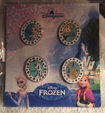 DISNEY TRADING PIN PACK - FROZEN WITH ANNA, ELSA, OLAF AND ARENDELLE CASTLE HKDL
