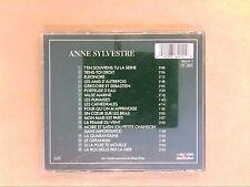 CD / ANNE SYLVESTRE / CHANSONS D'AUTEURS / T'EN SOUVIENS TU LA SEINE / TB ETAT